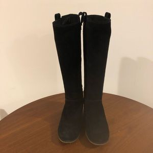 Kate Spade Under Knee High suede boots 6.5